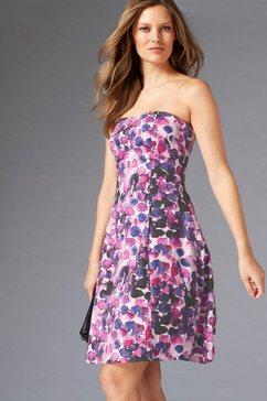guido maria kretschmer strapless jurk »sakura« roze