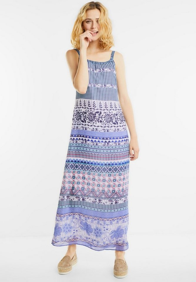 Street One Maxi-jurk Robin blauw