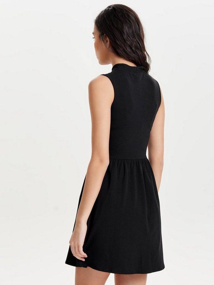ONLY Choker Mouwloze jurk zwart