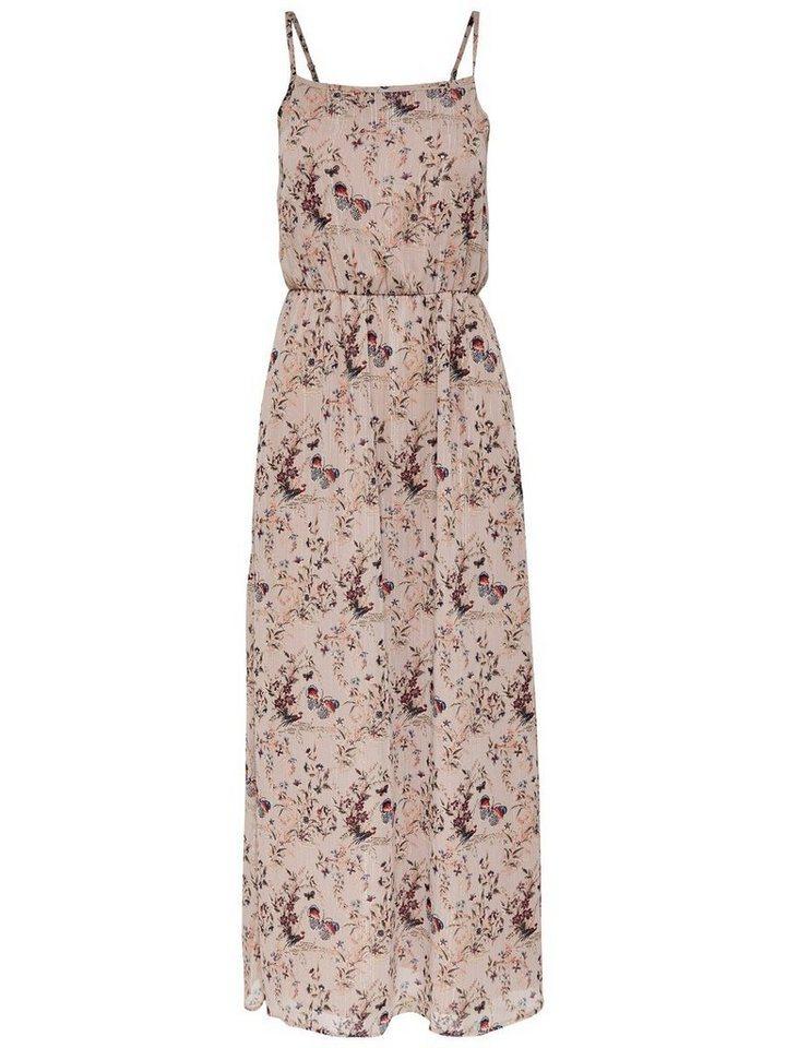 ONLY Mouwloze Maxi jurk roze