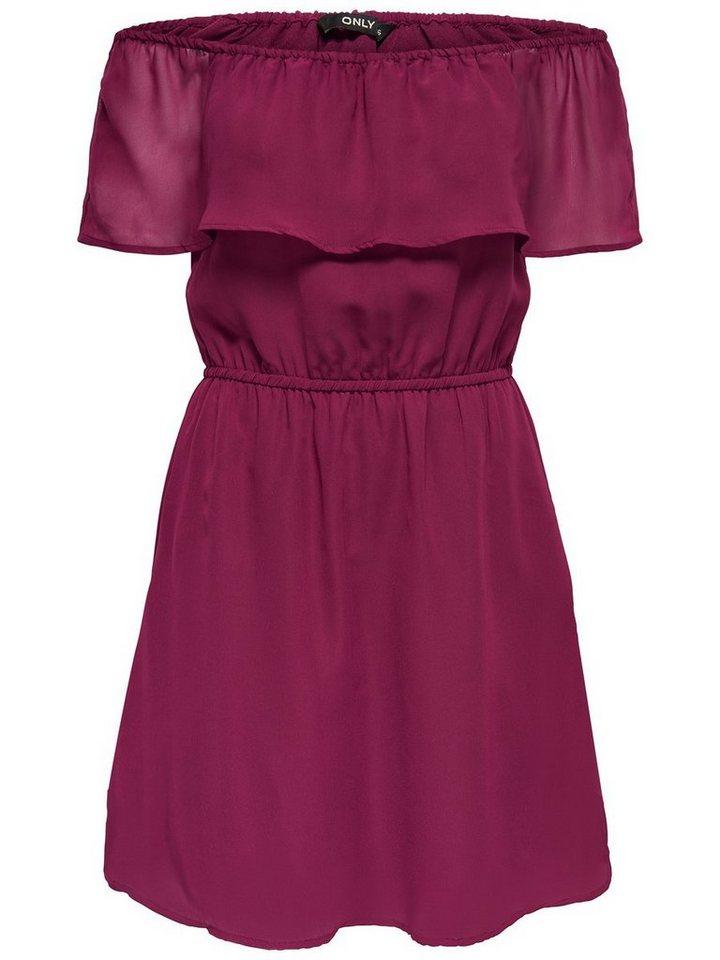 ONLY Korte jurk rood