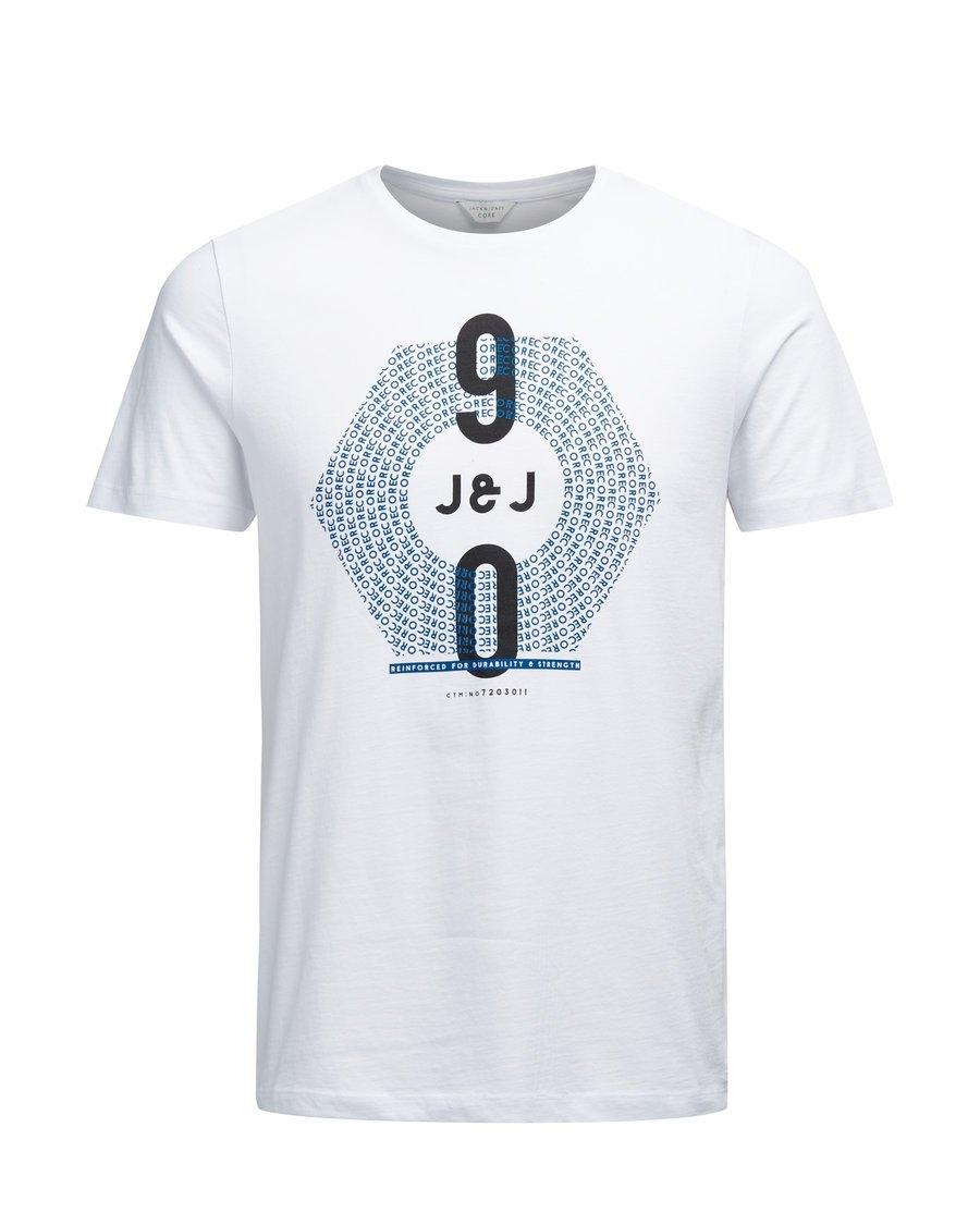 JACK & JONES Grafisch katoenen T-shirt met 1990 bij OTTO online kopen