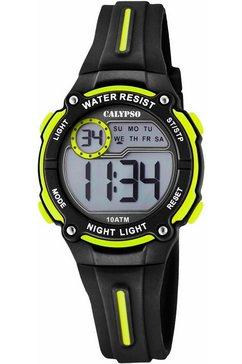 calypso watches chronograaf »digital crush, k6068-5« zwart