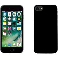 pedea smartphone-hoes soft tpu-case (glad) voor apple iphone 7 cover zwart