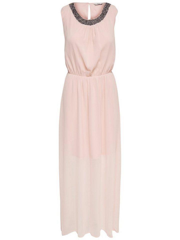 ONLY Gedetailleerde Maxi jurk roze
