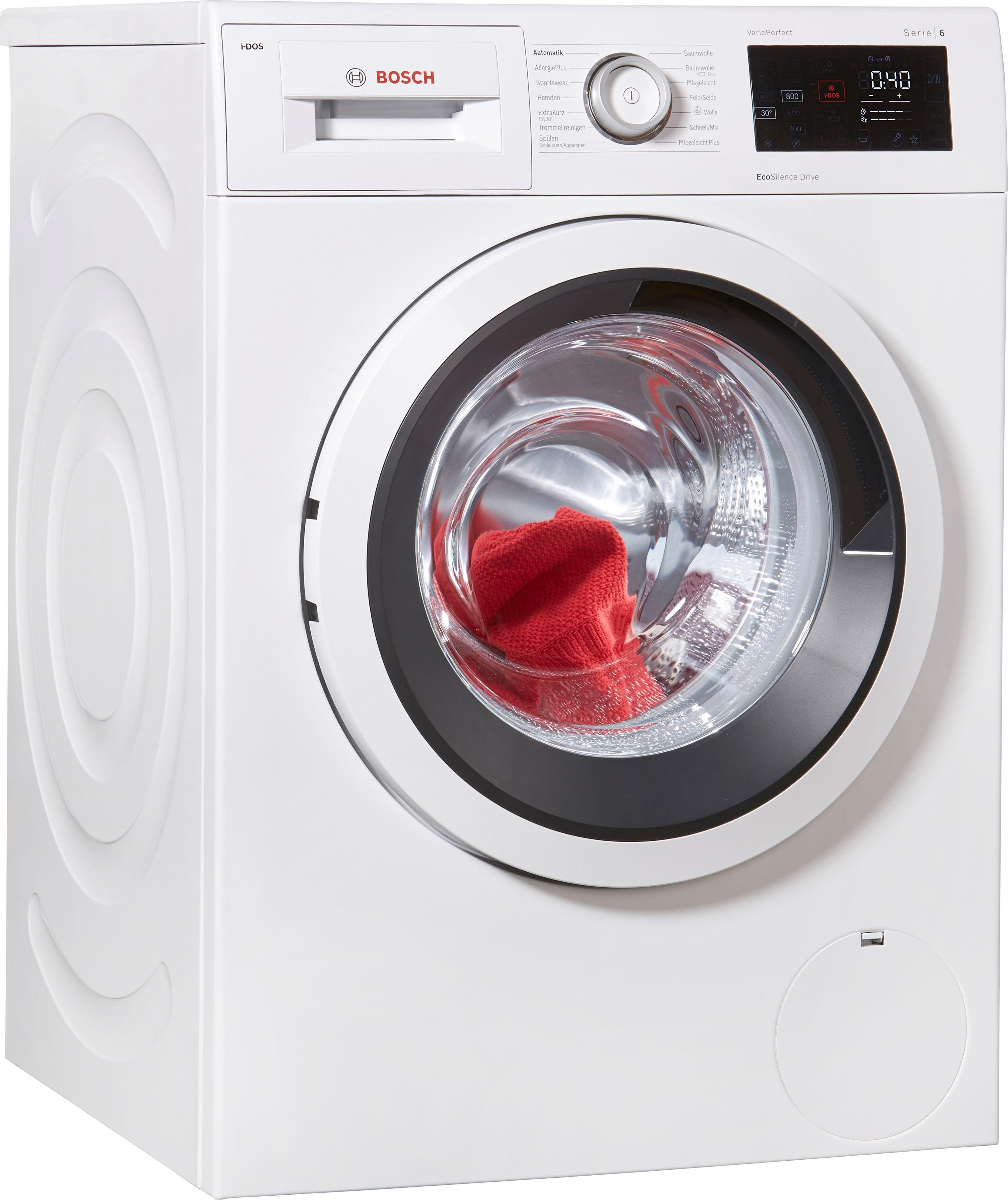 Bosch wasmachine Serie 6 WAT286V0, 8 kg, 1400 tpm goedkoop op otto.nl kopen