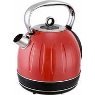 team-kalorik waterkoker tkg jk 2500 r, 1,7 liter, 2200 w rood