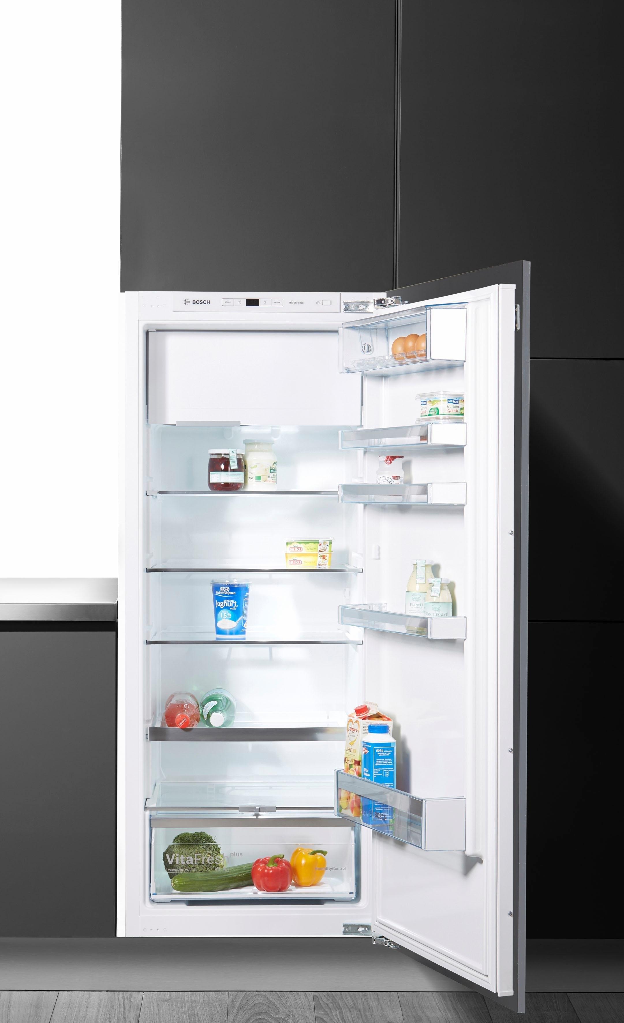 Bosch volledig integreerbare inbouwkoelkast KIL52AD40, energieklasse A+++, 140 cm hoog voordelig en veilig online kopen