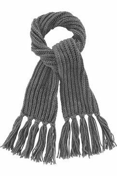 j. jayz gebreide sjaal grijs