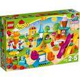 lego constructieblokken grote kermis (10840), lego duplo town (106 stuks) multicolor