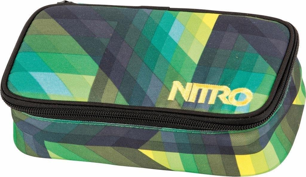 Nitro schooletui, »Pencil Case XL - Geo Green« - gratis ruilen op otto.nl