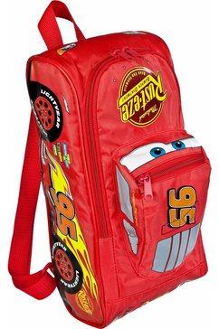 undercover 3d rugzak, »disney pixar cars 3, shape« rood