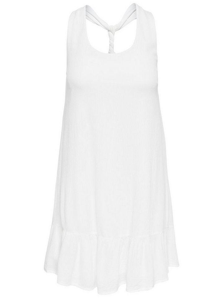 ONLY Loose fit Korte jurk wit