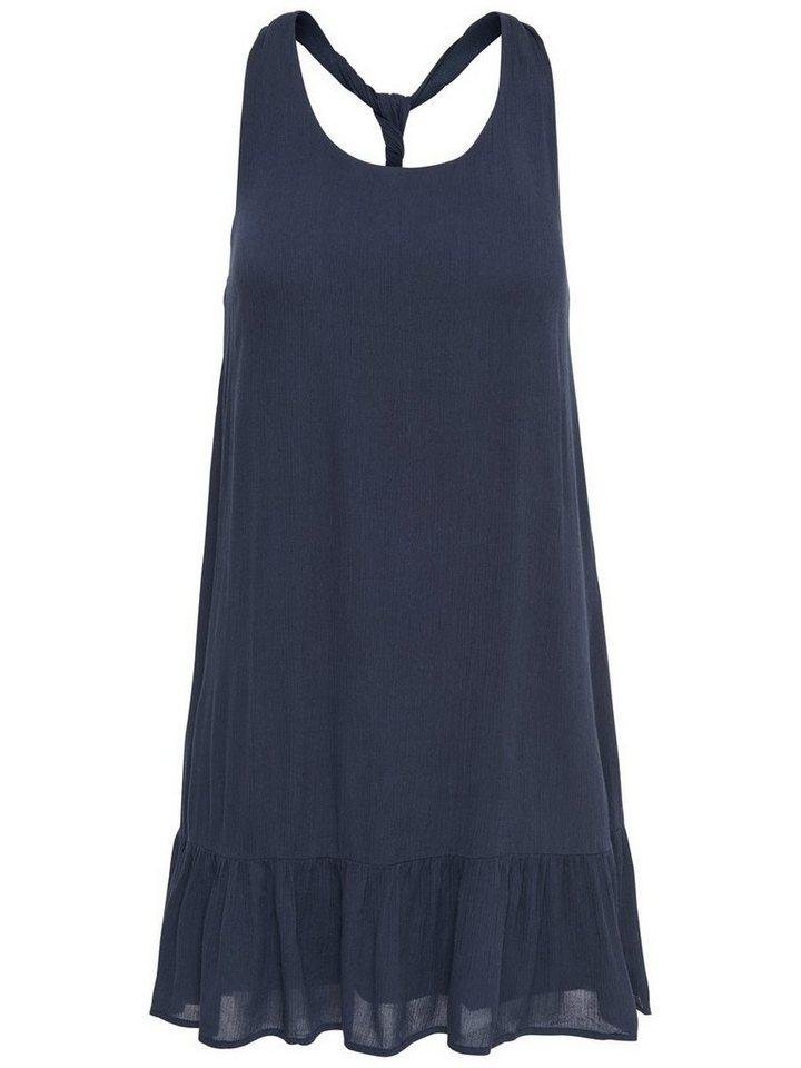 ONLY Loose fit Korte jurk blauw