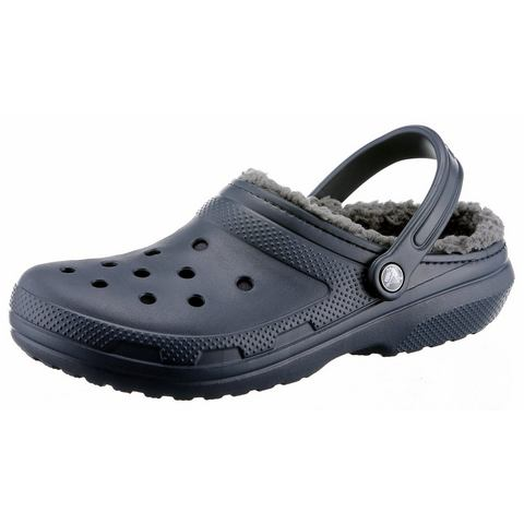 Crocs Klompen Unisex Navy-Charcoal Classic Lined