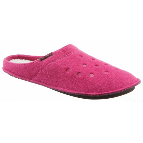 Crocs Slipper Unisex Candy Pink-Oatmeal Classic Slipper