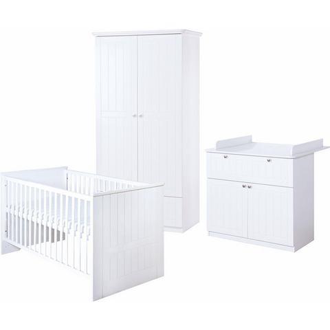 ROBA babykamer set (3-dlg.) kinderkamer Dreamworld 3 2-deurs
