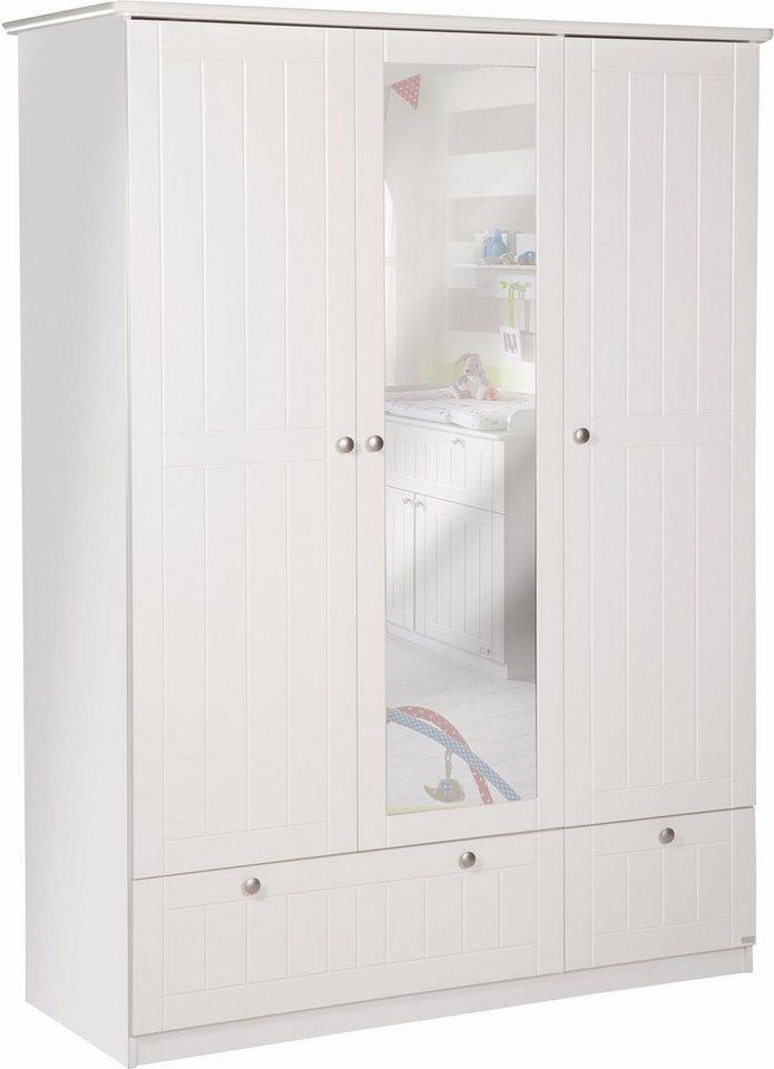 ROBA garderobekast Dreamworld 3, 3-deurs met spiegel