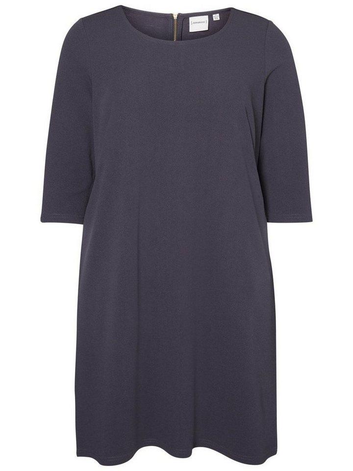 Junarose Niet gedetailleerde jurk blauw