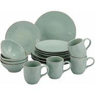 guido maria kretschmer homeliving combi-servies naturals geschikt voor de vaatwasser (set, 16-delig) groen