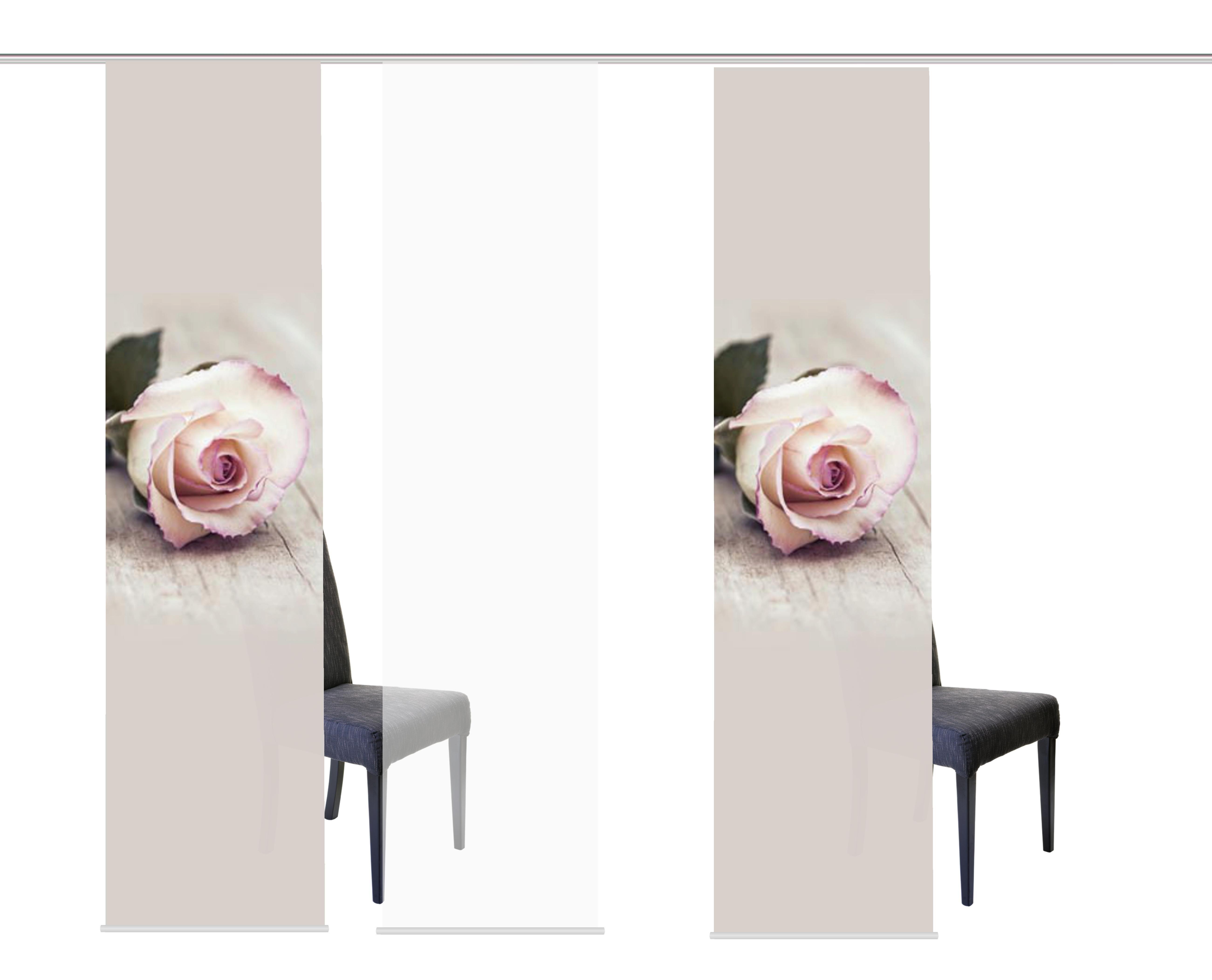 HOME WOHNIDEEN paneelgordijn »ROSIES« - verschillende betaalmethodes