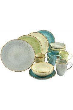 combi-servies, aardewerk, 16-delig, »NATURE COLLECTION«