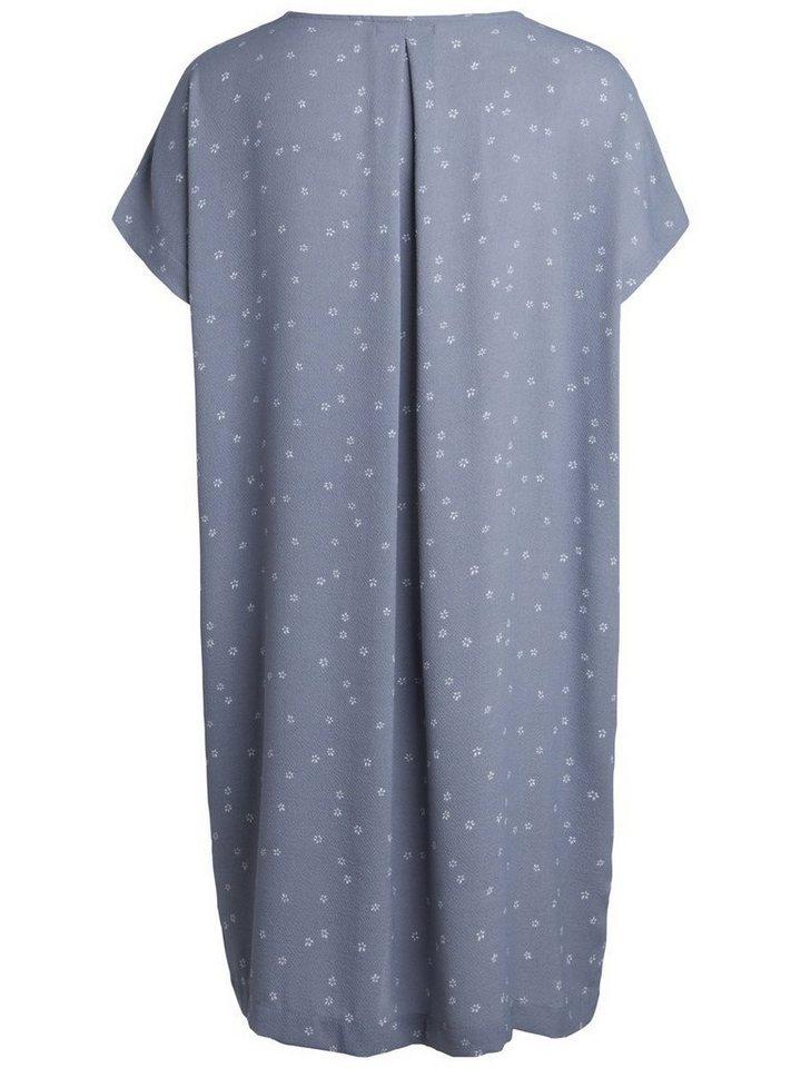 Pieces jurk grijs