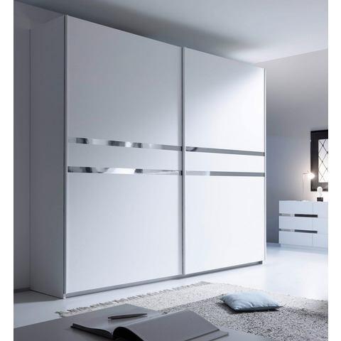 witte zweefdeurkast Places Of Style 275 cm 379463