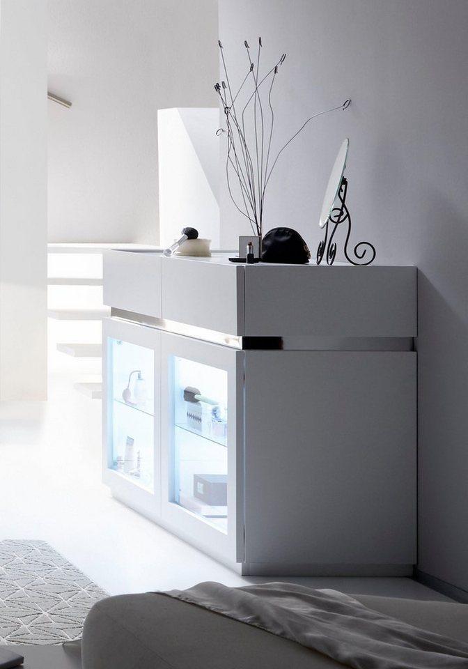 Roomed dressoir, breedte 123 cm