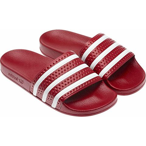 Adidas Adilette Heren Trainingsschoenen EU 38 UK 5 rood