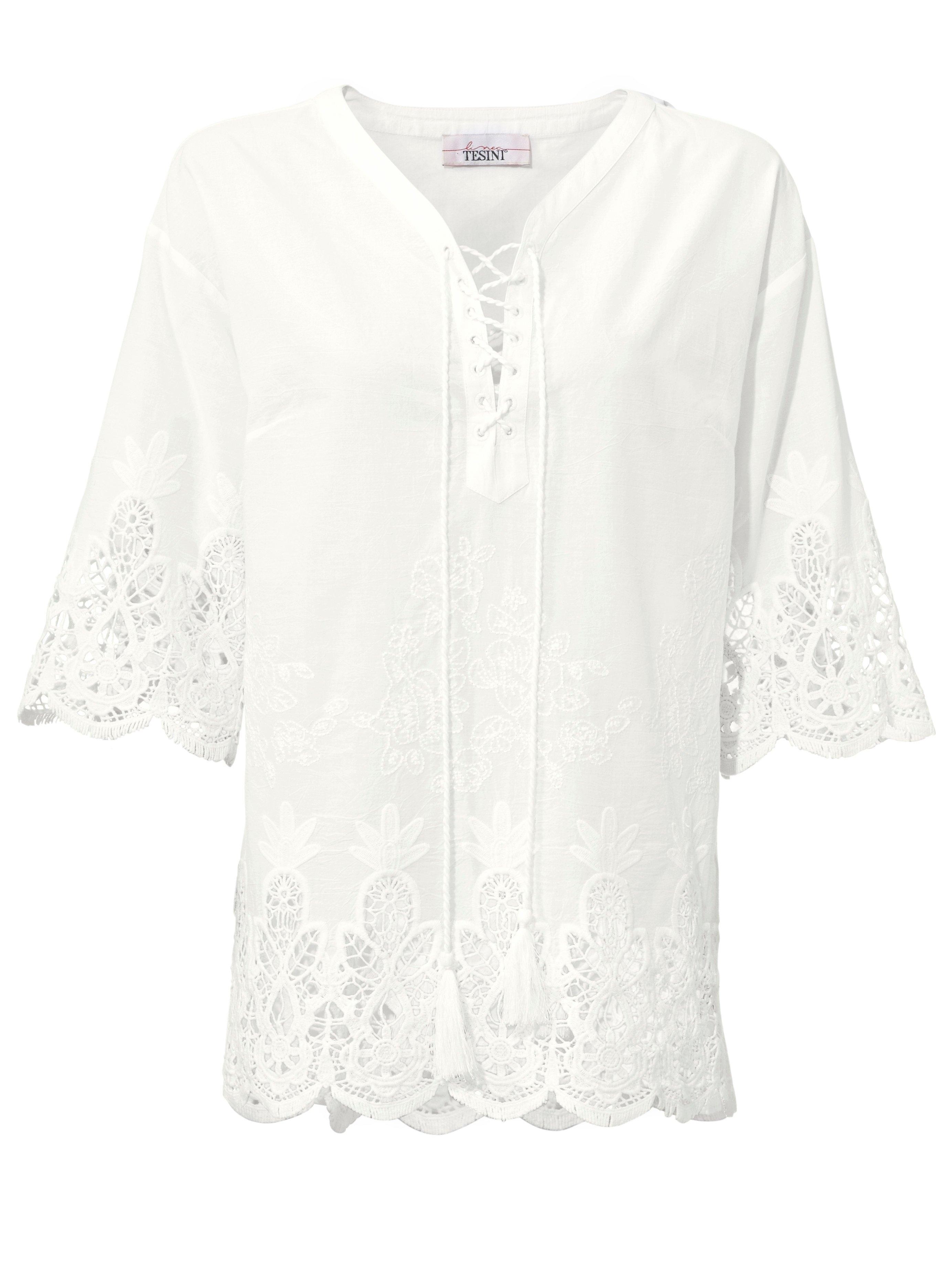 witte blouse maat 46