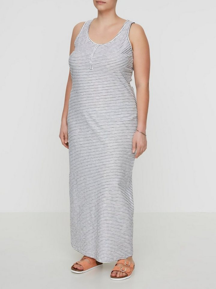Junarose Mouwloze jurk wit