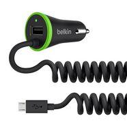 belkin lader »kfz dual-ladegeraet,17 watt 3.4 a, usb - micro-usb« zwart