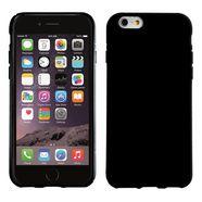 pedea gsm-hoesje »soft tpu case (glatt) voor apple iphone 6- 6s« zwart