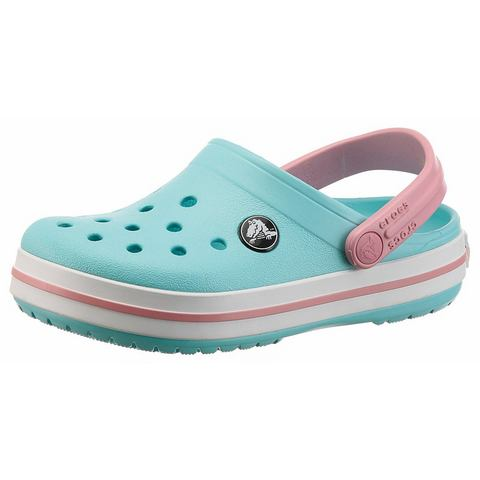 Crocs Klompen Kinderen Ice Blue-White Crocband