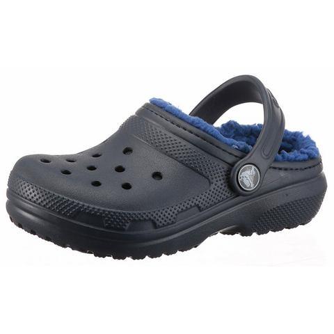 Crocs Klompen Unisex Navy-Cerulean Blue Classic Lined