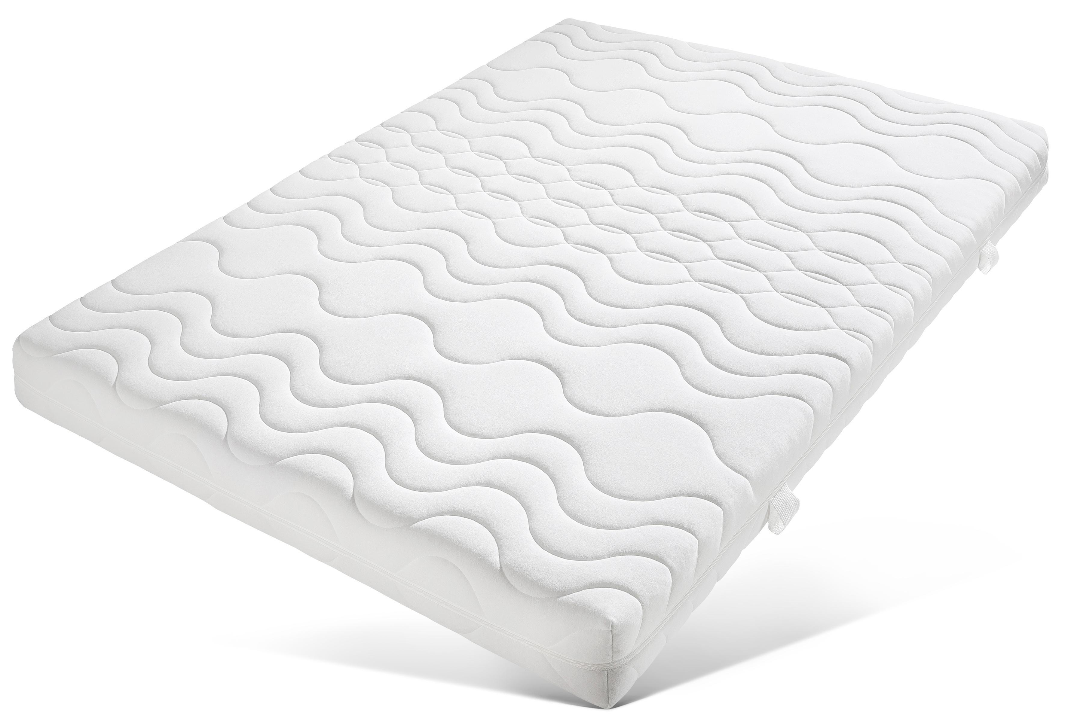 Beco Comfortschuimmatras »Frottee KS«, 16 cm dik, dichtheid: 28 bij OTTO online kopen