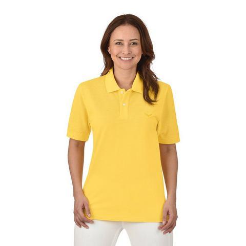 TRIGEMA Poloshirt »van deluxe piqué kwaliteit«