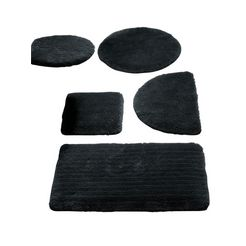 heine home badmat (1 stuk) zwart