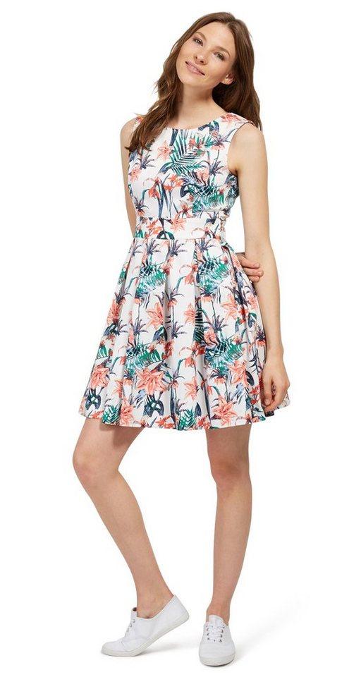 Tom Tailor jurk jurk met bloemenmotief multicolor