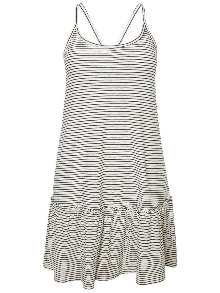 Junarose Peplum jurk wit