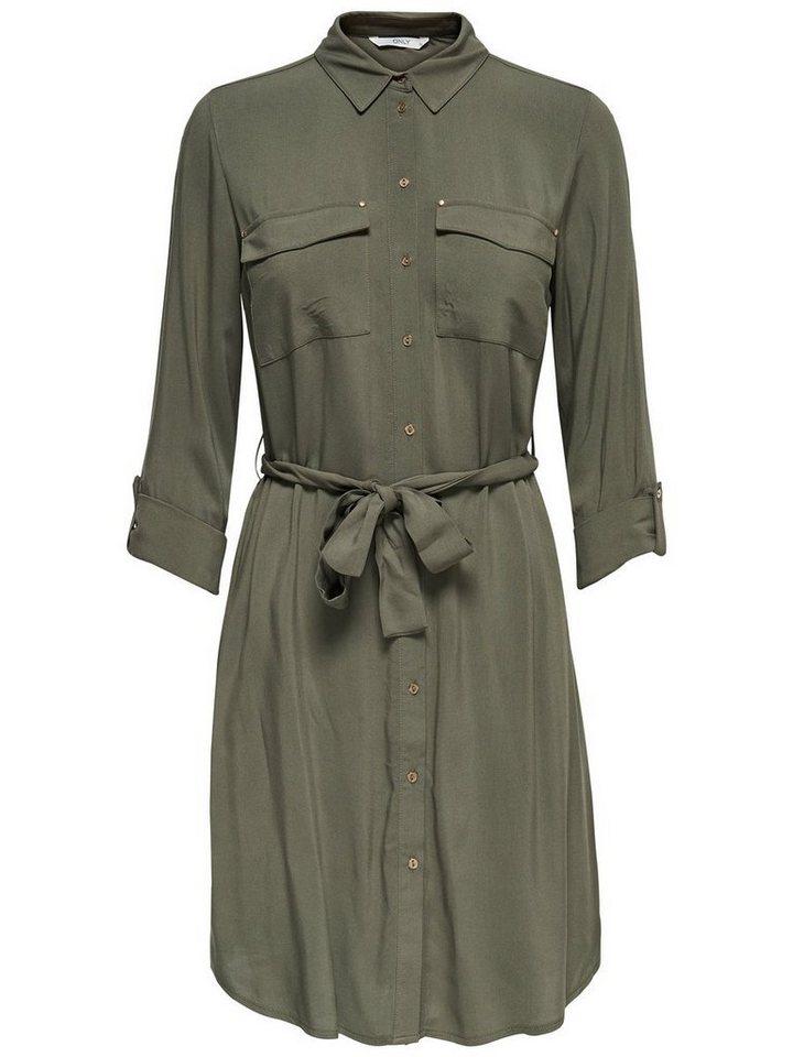 ONLY jurk groen