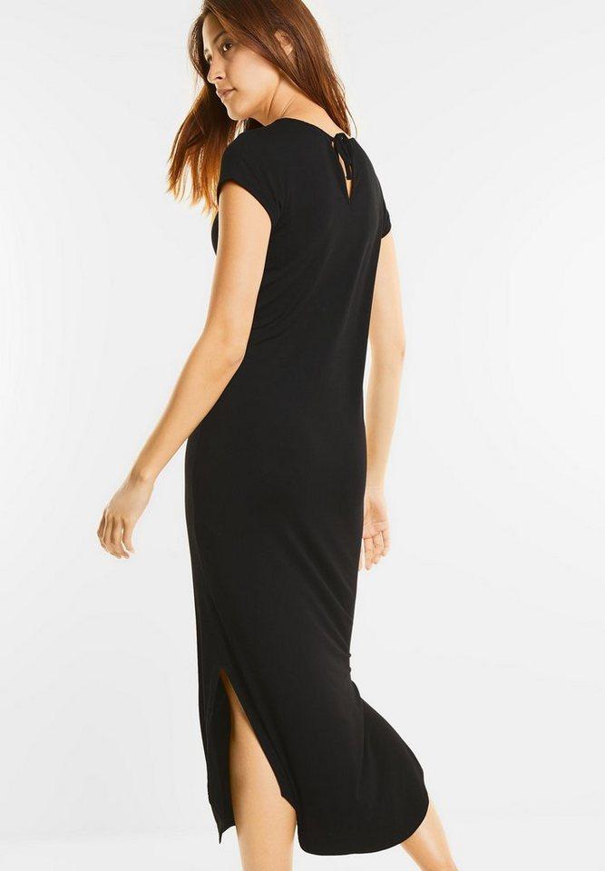 Street One Maxi-jurk van jersey Eliette zwart