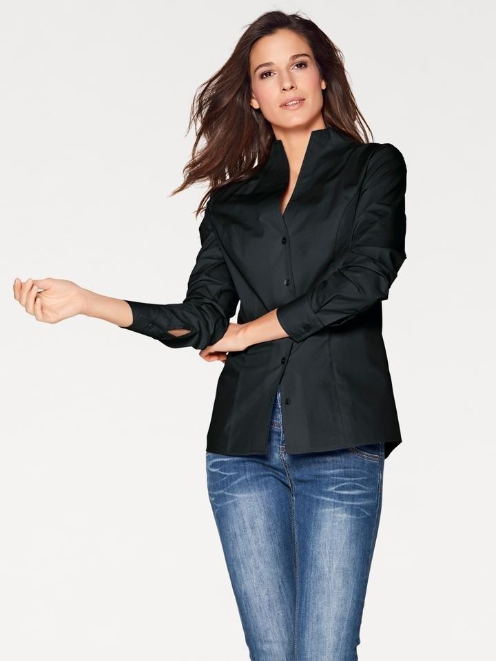blouse dames zwart