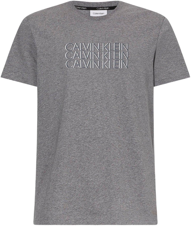 Op zoek naar een Calvin Klein T-shirt TRIPLE CENTER LOGO T-SHIRT? Koop online bij OTTO