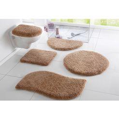 badmat »merida«, my home, hoogte 32 mm, met antislip-coating, geschikt voor vloerverwarming grijs