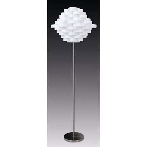 Naeve staande lamp, met 1 fitting, »White Line«