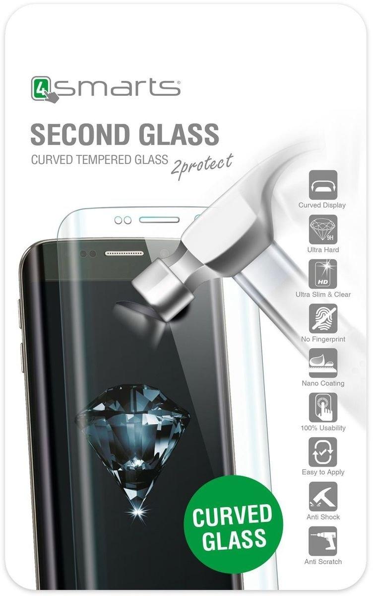4smarts display-beschermfolie »Second Glass Curved Samsung Galaxy S8 Plus« nu online bestellen