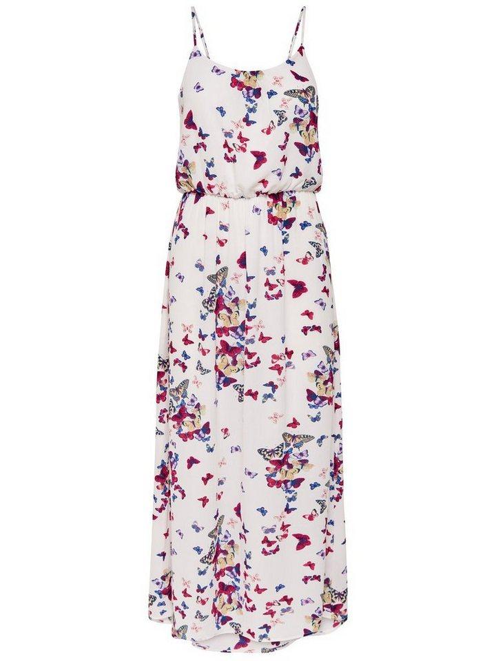 ONLY Bedrukte Maxi jurk wit