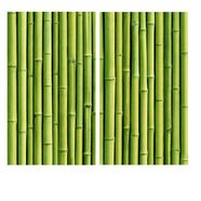 "wall-art kookplaatdeksel ""kueche herdabdeckplatte bambus"", glas, (set) groen"